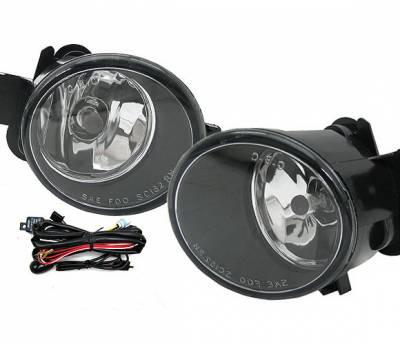 4 Car Option - Nissan Sentra 4 Car Option Fog Light Kit - Clear - LHF-NS04C