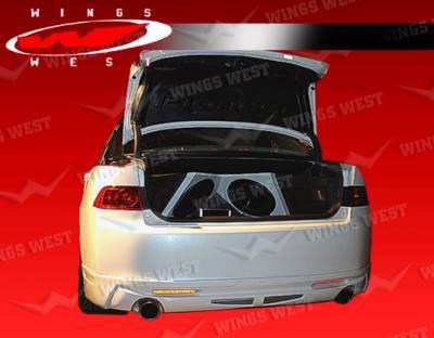 VIS Racing - Acura TSX VIS Racing JPC Rear Lip - 04ACTSX4DJPC-012P