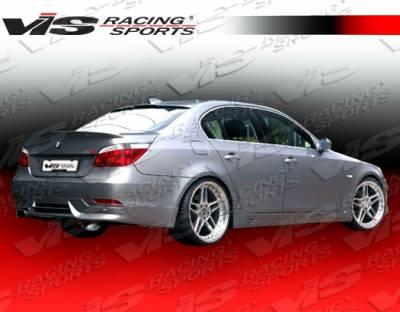 VIS Racing - BMW 5 Series VIS Racing A Tech Rear Lip - 04BME604DATH-012