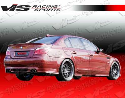 VIS Racing - BMW 5 Series VIS Racing Euro Tech Rear Lip - 04BME604DET-012
