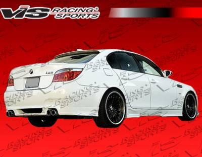 VIS Racing - BMW 5 Series VIS Racing Euro Tech Rear Lip - 04BME60M54DET-012
