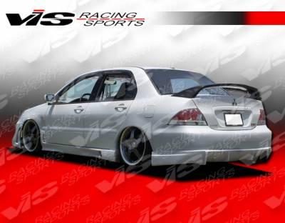 VIS Racing - Mitsubishi Lancer VIS Racing Rally Rear Bumper - 04MTLAN4DRAL-002