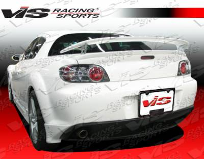 VIS Racing - Mazda RX-8 VIS Racing G-Speed Rear Bumper - 04MZRX82DGSP-012
