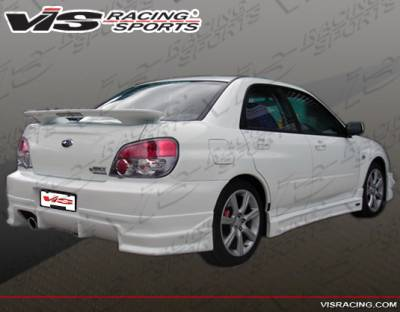 VIS Racing - Subaru WRX VIS Racing Demon Rear Bumper - 04SBWRX4DDEM-002