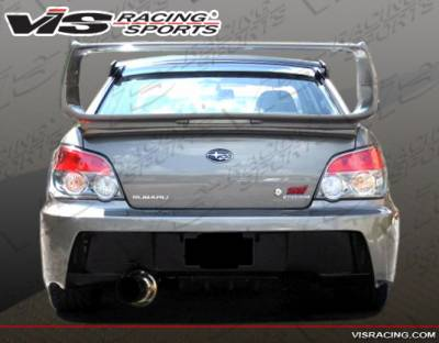 VIS Racing - Subaru WRX VIS Racing Z Sport Rear Bumper - 04SBWRX4DZST-002