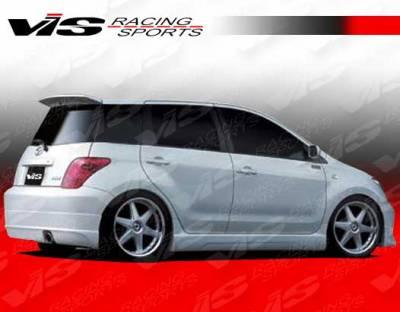 VIS Racing - Scion xA VIS Racing K Speed Rear Lip - 04SNXA4DKSP-012