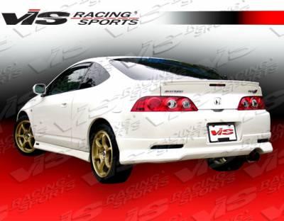 VIS Racing. - Acura RSX VIS Racing Techno R-2 Rear Lip - 05ACRSX2DTNR2-012