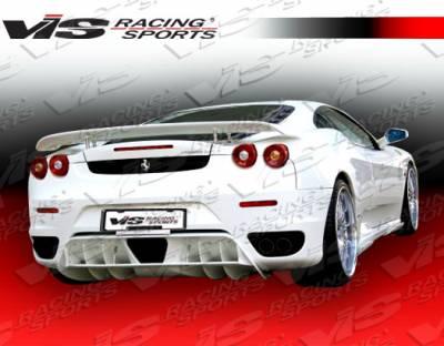 VIS Racing - Ferrari F430 VIS Racing Euro Tech Rear Lip - 05FR4302DET-012