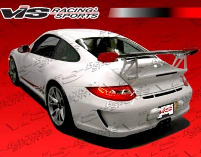 VIS Racing - Porsche Boxster VIS Racing D3 RS Rear Bumper - 05PSBOX2DD3RS-002