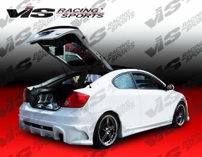 VIS Racing - Scion tC VIS Racing Laser Rear Bumper - 05SNTC2DLS-002
