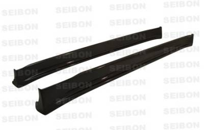 Seibon - Lexus IS Seibon TA Style Carbon Fiber Side Skirts - SS0003LXIS-TA