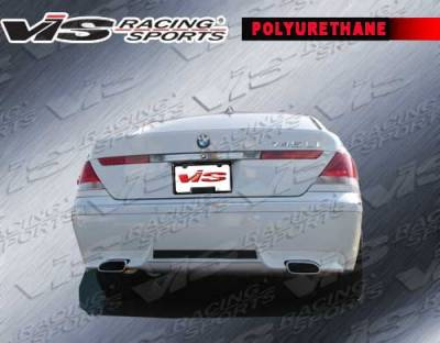 VIS Racing - BMW 7 Series VIS Racing A Tech Rear Lip - 06BME654DATH-012P