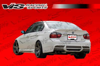 VIS Racing - BMW 3 Series VIS Racing VIP Rear Bumper - 06BME904DVIP-002