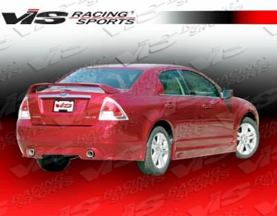 VIS Racing - Ford Fusion VIS Racing Race Rear Lip - 06FDFUS4DRAC-012