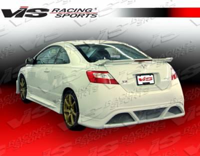 VIS Racing - Honda Civic 2DR VIS Racing Type R Concept Rear Bumper - 06HDCVC2DTRC-002