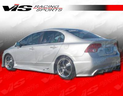 VIS Racing - Honda Civic 4DR VIS Racing Alfa Rear Bumper - 06HDCVC4DALF-002
