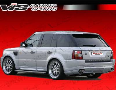 VIS Racing - Land Rover Range Rover VIS Racing Astek Rear Lip - 06LRRRS4DAST-012