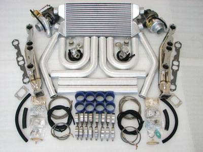 Custom - Short Block Twin Turbo Charger Kit
