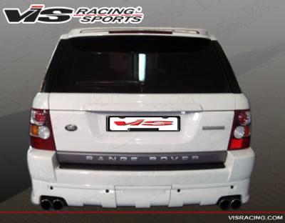 VIS Racing - Land Rover Range Rover VIS Racing Euro Tech Rear Bumper - 06LRRRS4DET-002