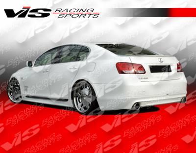 VIS Racing - Lexus GS VIS Racing VIP Rear Lip - 06LXGS34DVIP-012