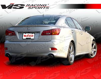 VIS Racing - Lexus IS VIS Racing Techno R Rear Lip - 06LXIS34DTNR-012