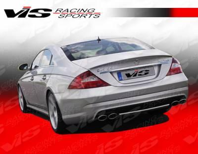 VIS Racing - Mercedes-Benz CLS VIS Racing Euro Tech Rear Bumper - 06MEW2194DET-002