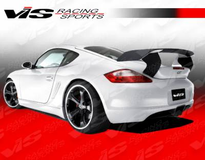 VIS Racing - Porsche Cayman VIS Racing A Tech GT Rear Bumper - 06PSCAM2DATHGT-002