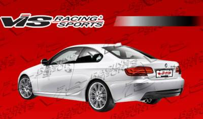 VIS Racing - BMW 3 Series VIS Racing M Tech Rear Bumper - 07BME922DMTH-002