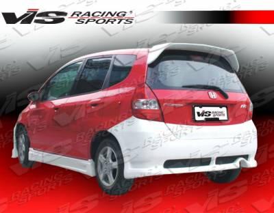 VIS Racing. - Honda Fit VIS Racing N1 Rear Bumper - 07HDFIT4DN1-002