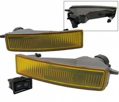 4 Car Option - Scion xB 4 Car Option Fog Light Kit - Yellow - LHF-TS001-YL