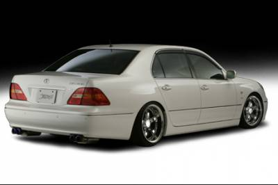 VIS Racing. - Lexus LS VIS Racing ACT Rear Lip - 07LXLS44DACT-012