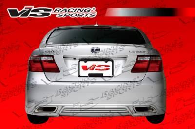 VIS Racing - Lexus LS VIS Racing VIP Rear Lip - 07LXLS44DVIP-012