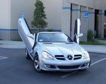 Custom - Mercedes Diablo 90 Degree Vertical Door Kit