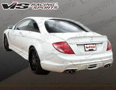 VIS Racing - Mercedes-Benz CL Class VIS Racing VIP Rear Bumper - 07MEW2162DVIP-002