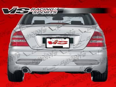 VIS Racing - Mercedes-Benz S Class VIS Racing Laser Rear Bumper - 07MEW2214DLS-002
