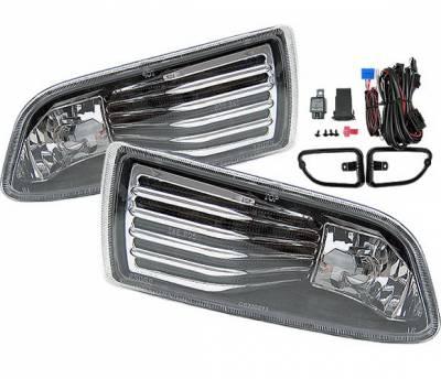 4 Car Option - Scion tC 4 Car Option Fog Light Kit - LHF-TSTC01