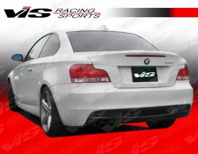 VIS Racing - BMW 1 Series VIS Racing M Tech Rear Bumper - 08BME822DMTH-002