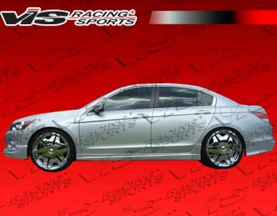VIS Racing. - Honda Accord 4DR VIS Racing Techno R Rear Lip - 08HDACC4DTNR-012