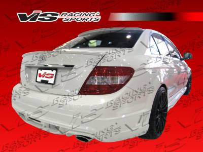 VIS Racing - Mercedes-Benz C Class VIS Racing VIP Rear Bumper - 08MEW2044DVIP-002