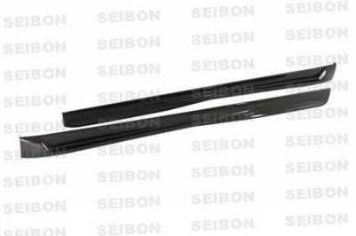 Seibon - Volkswagen Golf GTI Seibon TT Style Carbon Fiber Side Skirts - SS0607VWGTI-TT