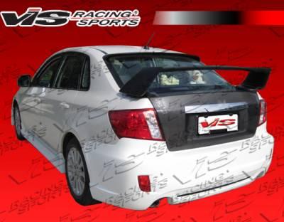 VIS Racing - Subaru WRX VIS Racing Rally Rear Bumper - 08SBWRX4DRAL-002
