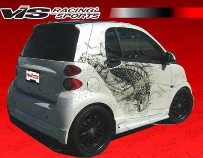 VIS Racing - Smart ForTwo VIS Racing V Max Rear Lip - 08SMFR22DVMAX-012