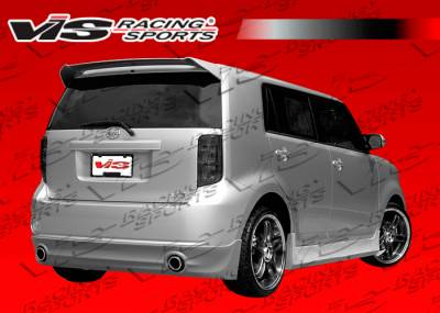 VIS Racing - Scion xB VIS Racing Razor Rear Lip - 08SNXB4DRAZ-012