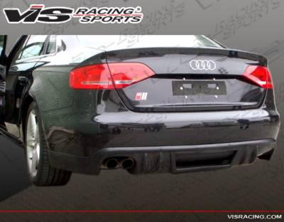 VIS Racing - Audi A4 VIS Racing R Tech Rear Lip - 09AUA44DRTH-032