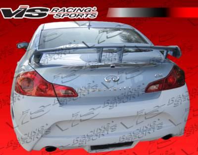 VIS Racing - Infiniti G37 VIS Racing AMS GT Rear Bumper - 09ING374DAMSGT-002