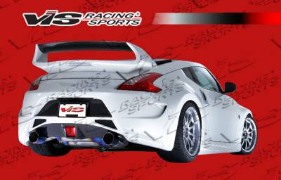 VIS Racing - Nissan 370Z VIS Racing AMS Rear Bumper - 09NS3702DAMS-002