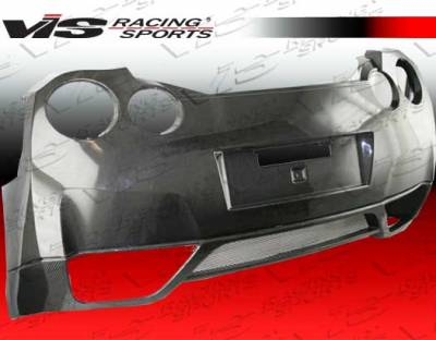 VIS Racing. - Nissan Skyline VIS Racing OEM Rear Bumper - 09NSR352DOE-002