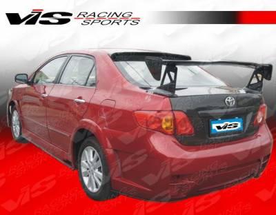VIS Racing - Toyota Corolla VIS Racing Zyclone Rear Bumper - 09TYCOR4DZYC-002