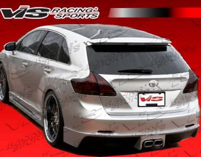 VIS Racing - Toyota Venza VIS Racing Venus Rear Bumper - 09TYVEN4DVEN-012