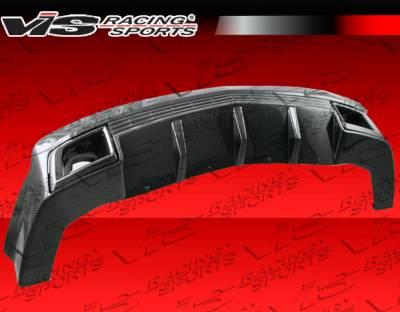 VIS Racing - Chevrolet Camaro VIS Racing SX Rear Lip - Carbon Fiber - 10CHCAM2DSX-012C